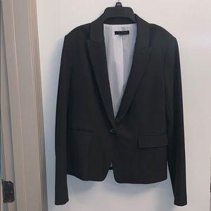 Ann Taylor Loft dark grey blazer